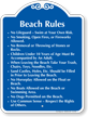 Beach Property SignatureSign