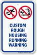 Custom Pool Safety Sign