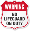 Pool Safety Shield Sign