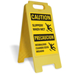 FloorBoss XL™ Bilingual Standing Floor Sign