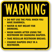 Ohio Sprayground Warning Sign