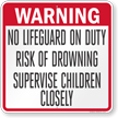 Georgia Pool Sign