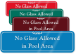 ShowCase™ Pool Rules Wall Sign