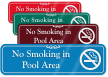 ShowCase™ Smoking Prohibited Wall Sign