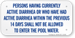 Pool Rule Sign