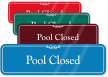 ShowCase™ Swimming Pool Wall Sign
