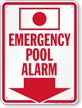Spa Alarm Sign