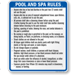 Indiana Pool Sign