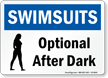 Pool / Spa Sign